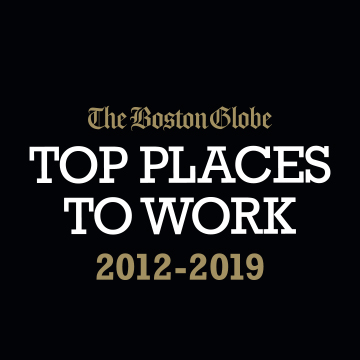 Boston Globe's Top Places To Work : 2012-2019